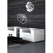 Розы, цвет серебро