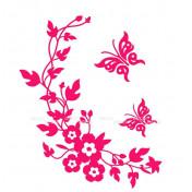 Веночек ярко-розовый