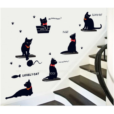 Кошки с бантиками