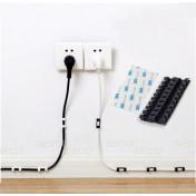 Крепление провода к стене / технике, черный
