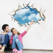 Наклейка на потолок, 3d эффект
