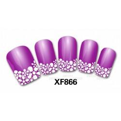 Наклейка френч на ногти 866