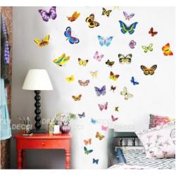 Пестрые бабочки