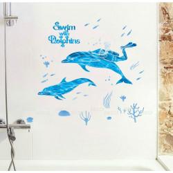 Плыву с дельфинами