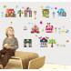 Цветные домики 3D