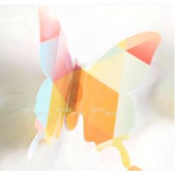 Бабочки, геометрический рисунок, 3D