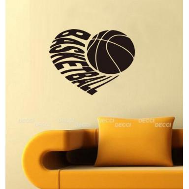 Наклейка на стену Баскетбол символ