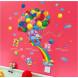 Наклейка на стену Блестящие шарики