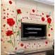 Наклейка на стену Букет роз