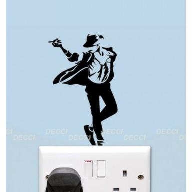 Наклейка на стену Майкл