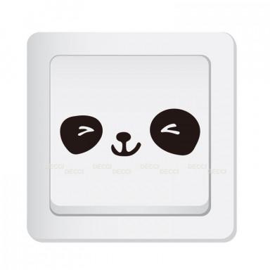 виниловая наклейка на выключатель Счастливчик