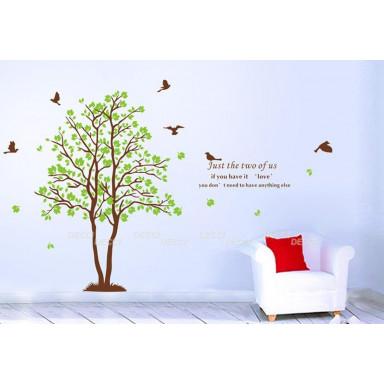 Наклейка на стену Два дерева