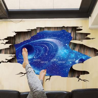 наклейка на стену Другое измерение, 3d эффект