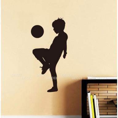 Наклейка на стену Футболист