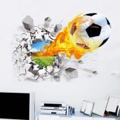 Футбольный мяч, 3d эффект