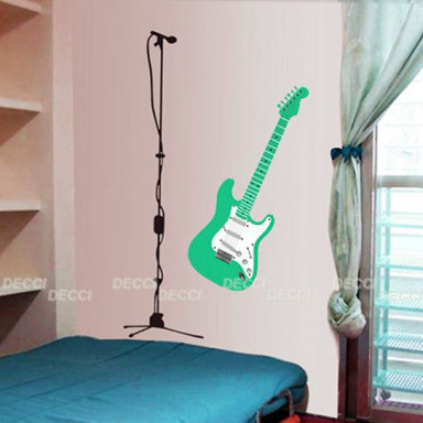 Наклейка на стену Гитара