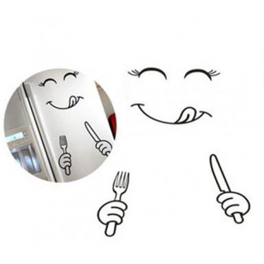 Многофункциональная наклейка Холодильник Язычок