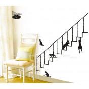 Кошки на лестнице