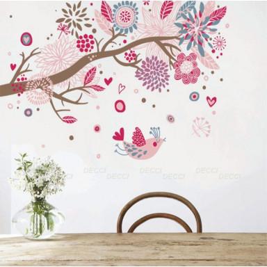 Наклейка на стену Красивый сон