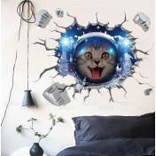 Котик-космонавт, 3d эффект