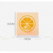 Настенный крючок-самоклейка для кухни, апельсин