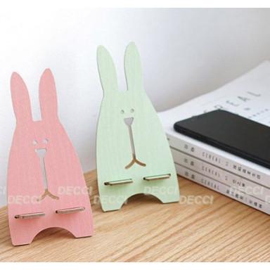 Подставка для телефона\планшета, зайчик, розовый