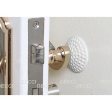 Валик дверной, антиударный, белый
