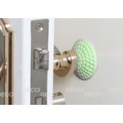Валик дверной, антиударный, зеленый