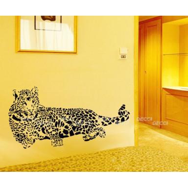 Наклейка на стену Леопард