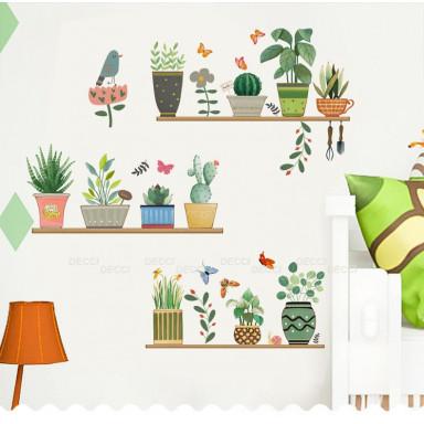 Наклейка на стену Мои любимые растения