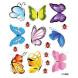 Наклейка на стену Мини бабочки