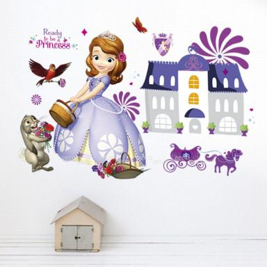 Наклейка на стену Принцесска