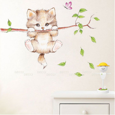 Пушистый котенок