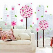 Розовые деревца