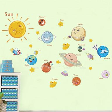 Наклейка на стену Солнечный круг