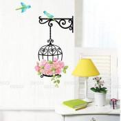 Цветы и птички