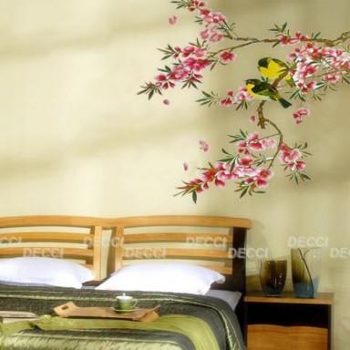 Наклейка на стену Весеннее цветение