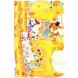 Наклейка на стену Забавный жираф ростомер