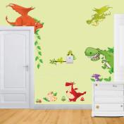 Веселые динозавры