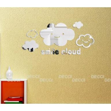 Улыбка облака акриловое зеркало