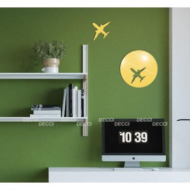 Наклейка на стену зеркальная Два самолета