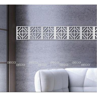 Марокканский орнамент, 10 кв акриловое зеркало