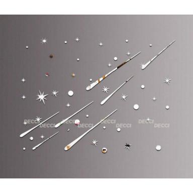 Акриловое зеркало Метеоритный дождь