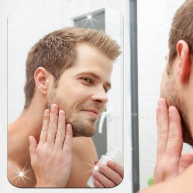 Наклейка на стену зеркальная Прямоугольное зеркало