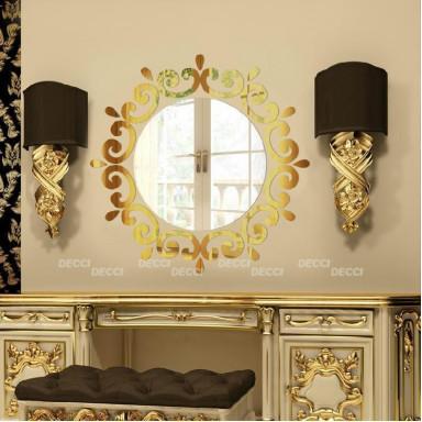 Наклейка на стену зеркальная Украшение для зеркал