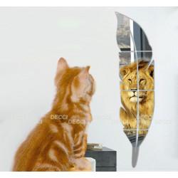 Зеркало-перо миди